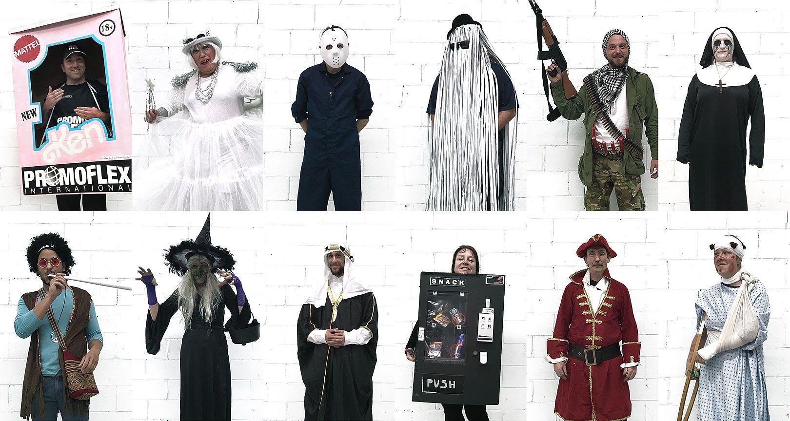Concours de costumes d'Halloween